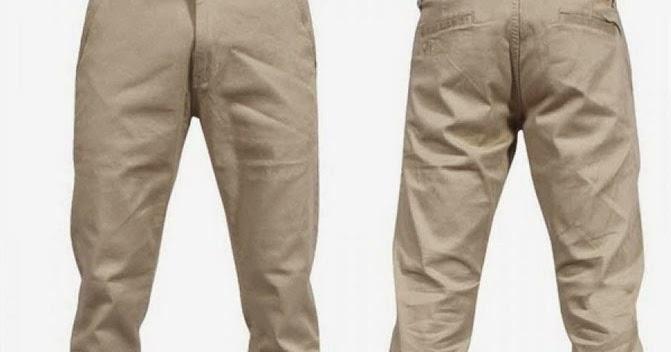 Cara Membuat Pola Celana Pria