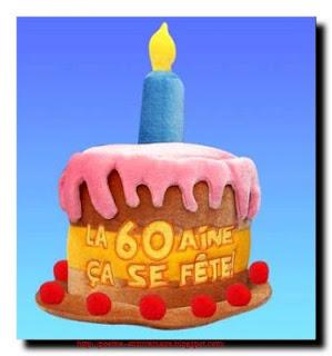 Poème bon anniversaire 60 ans