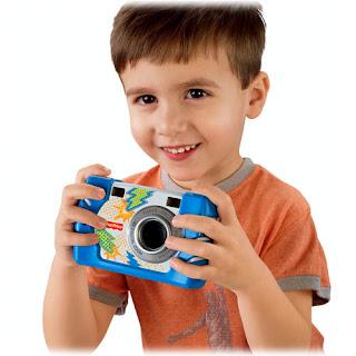 aparat fisher price dla chłopca
