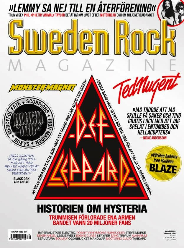 Sweden Rock Magazine #107