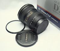 Jual Lensa Tokina 11-16 f2.8 ATX Pro DX2 Second