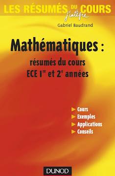 Mathématiques résumés du cours