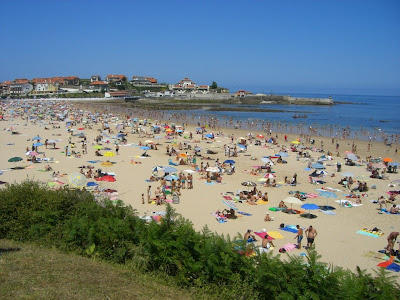 Beach of Comillas