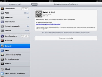 iPhone iOS 6 beta 2