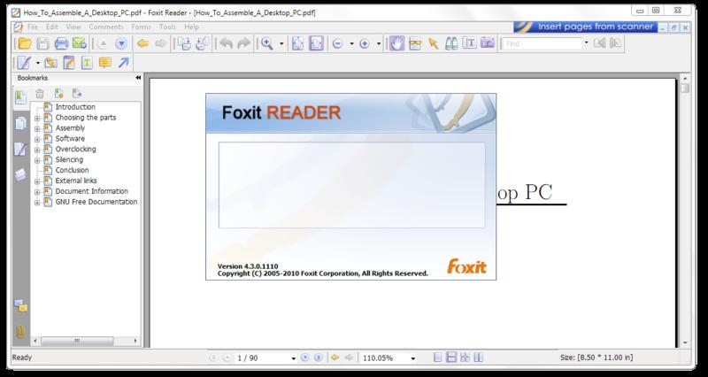 Foxit Reader 7.1.0.0306 Full Version