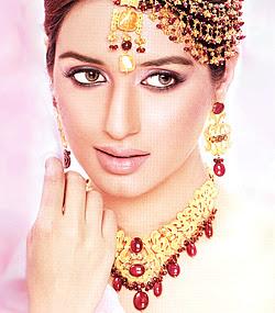 Iman Ali bridal