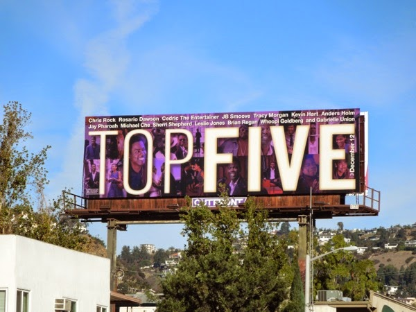 Top Five film billboard
