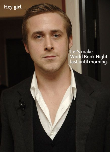 Ryan Gosling world book night