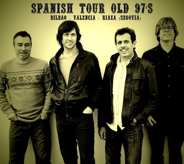 Spanish Tour OLD 97'S