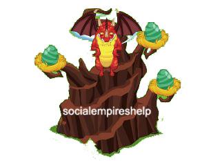 imagen del criadero de dragones de social empires