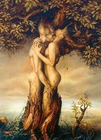 Beltane - união sexual entre o Deus e a Deusa