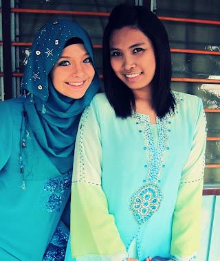 My sister Angah and Me
