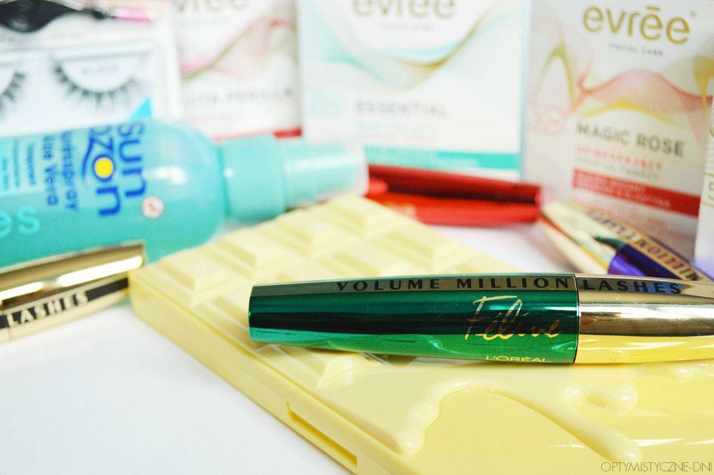 zakupy kosmetyczne loreal makeup revolution evree