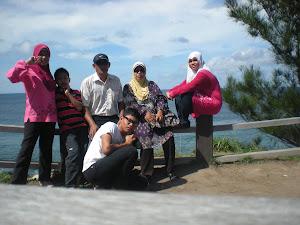 Percutian di Tip Of Borneo bersama keluarga