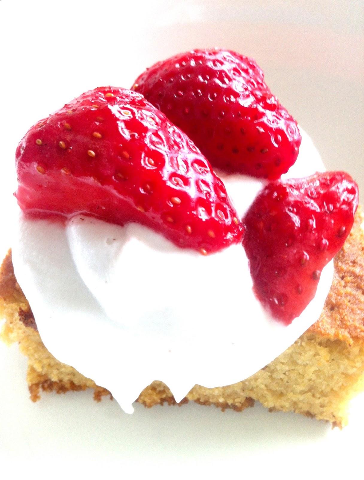 Pound Cake Topping Recipe