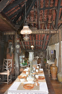 Dining are in the Yap-Sandiego house in Cebu