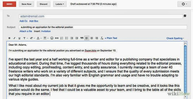 My English Pages Online: How to write an email