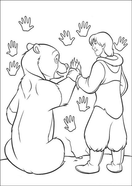 Brother Bear Coloring Pages title=