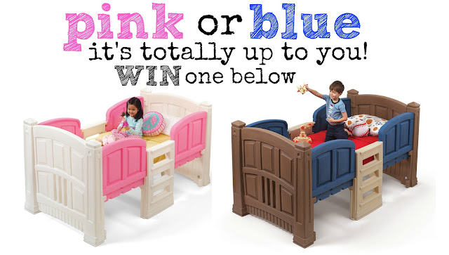 Step2 Loft & Storage Twin Bed, Step2 Bed giveaway, Step2 Test drive blogger, best big kid bed