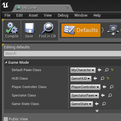 Romero blueprints gamehud game over open the blueprint mygame in the defaults mode and modify the hud class property to do this click the combo box of the property and select the malvernweather Gallery