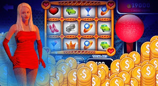 Screenshots of the Sizzling Hot Girls Slots for Android tablet, phone.
