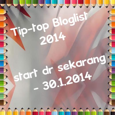 GA Tip-Top Bloglist Ibu 2014