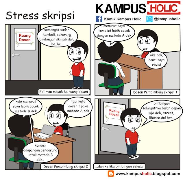 #135 ketika mahasiswa Stress skripsi