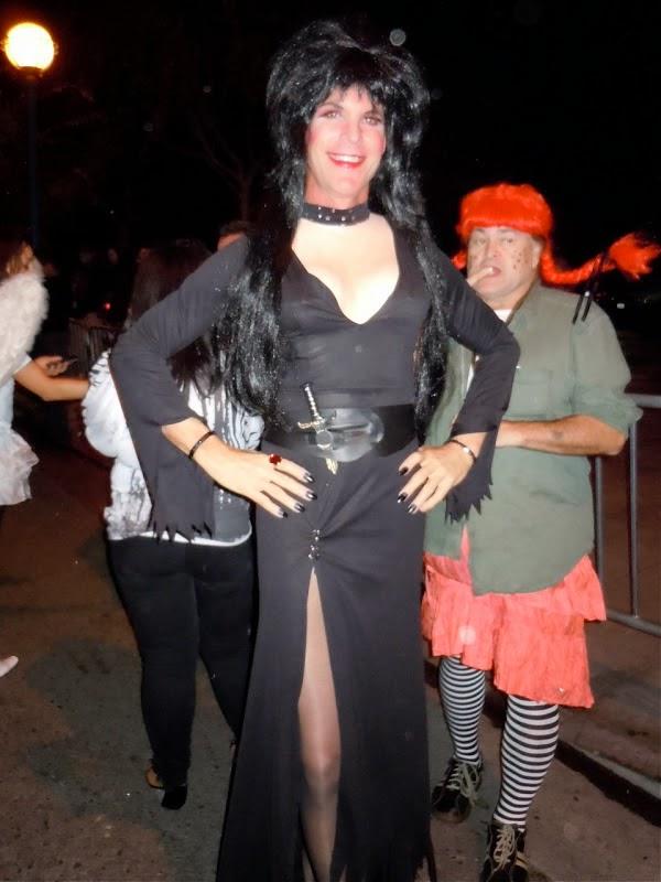 Elvira Funny Halloween Costume