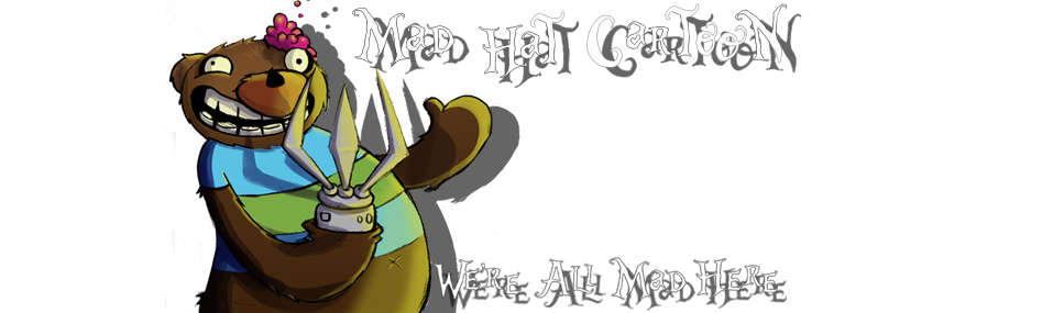 MAD HAT CARTOON