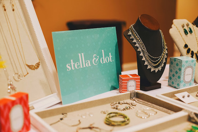 stella and dot vendor booth