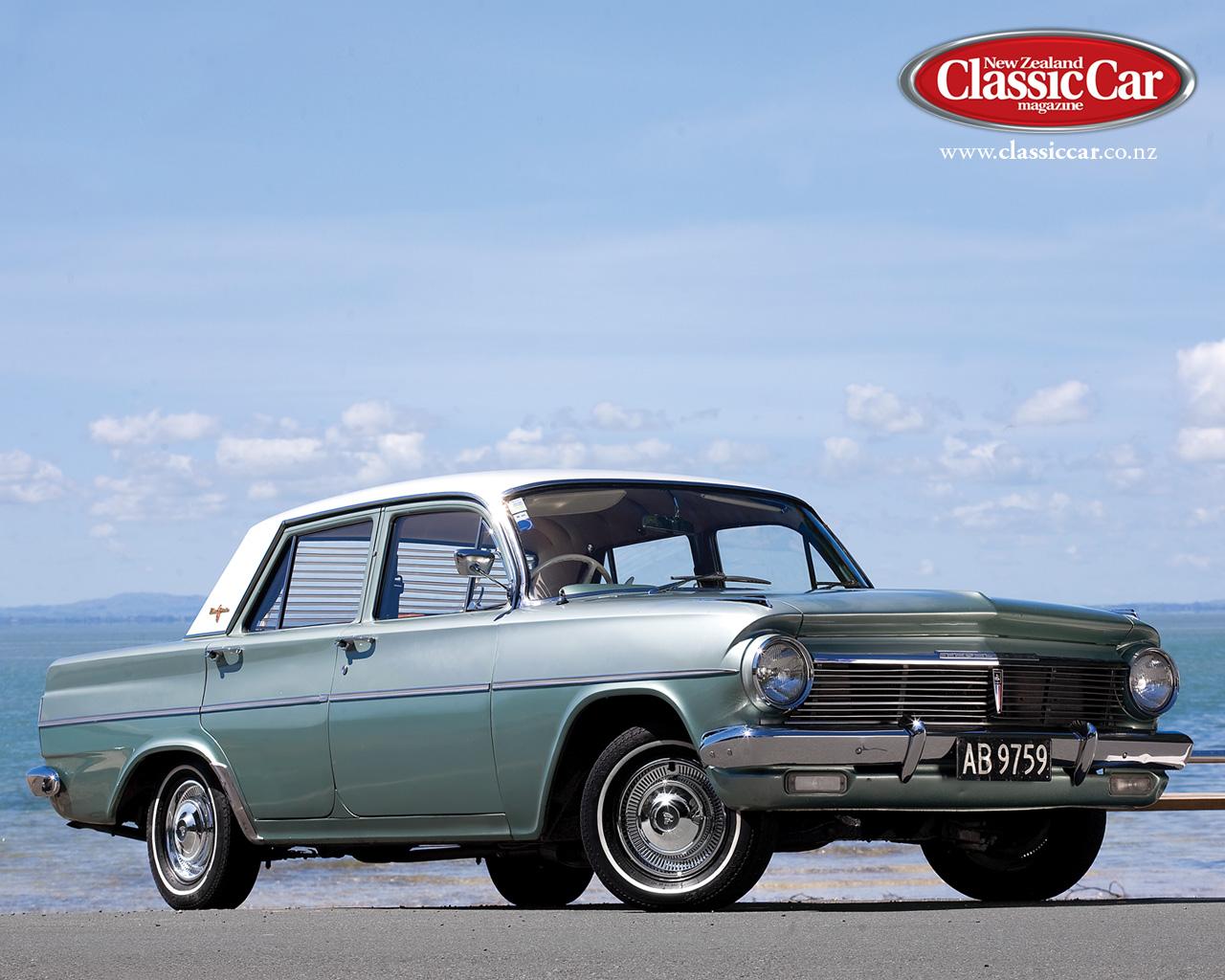 transpress nz  1964 Holden EH Premier