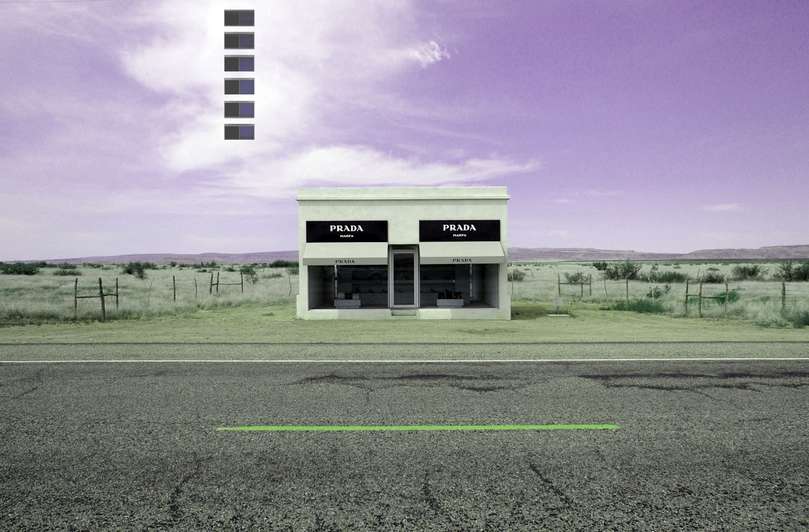 Project Marfa; Donald Judd Closes In On Prada Marfa.