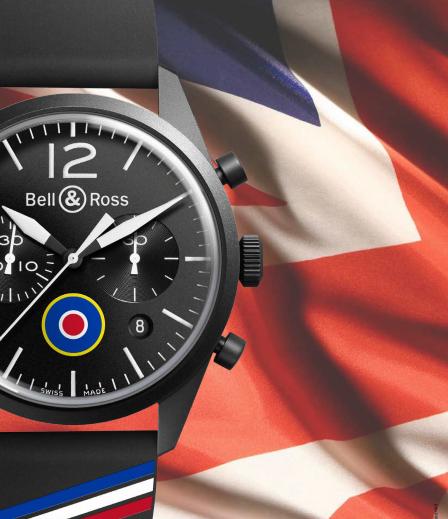BELL & ROSS BR 126 INSIGNIA UK
