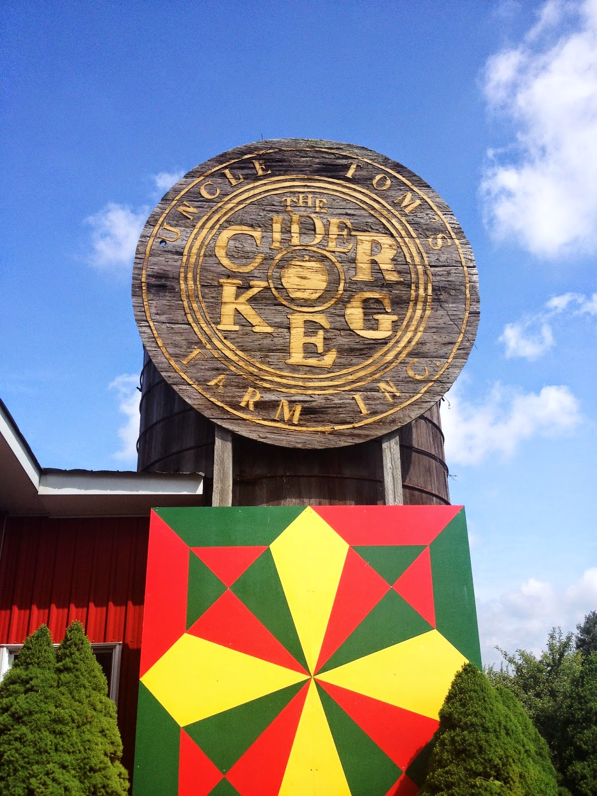 Uncle Tom's Farm Inc. Cider Keg in Norfolk County