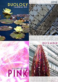 calendars 2012 - duology and pink