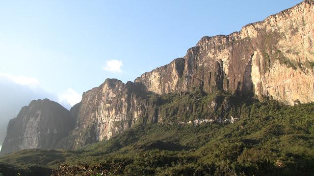 Vista cercana Roraima