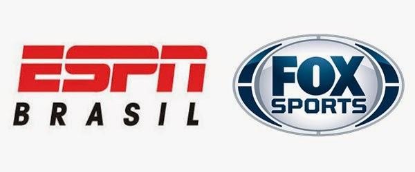 Escala dos jogos da Copa do Brasil e da Sul-Americana na ESPN e Fox Sports