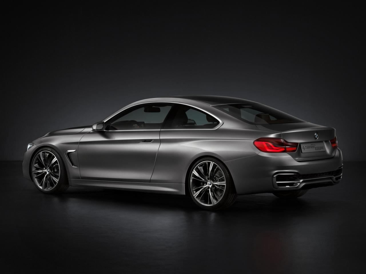 New BMW 4-Series Coupe Concept (F32): The New 3-Coupe (All Official