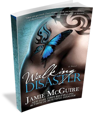 Book Cover: Walking Disaster by Jamie McGuire