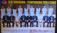 C.B. BREOGÁN LUGO 2001-2002. Liga ACB