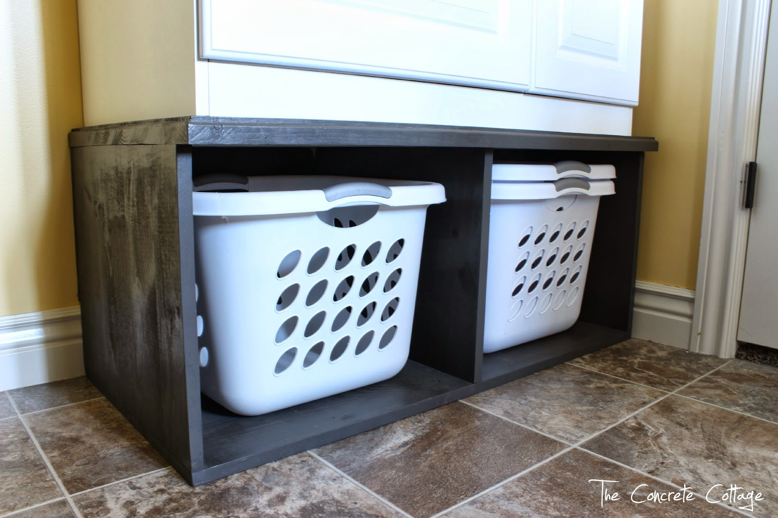 diy washer dryer pedestal