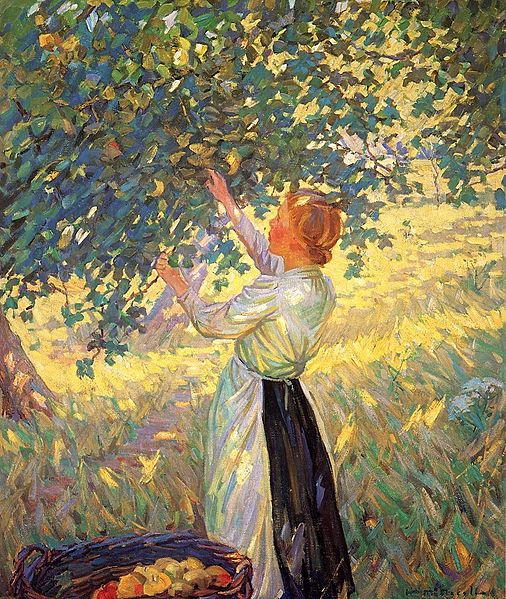 The Apple Gatherer - Helen Galloway McNicoll (1879-1915)