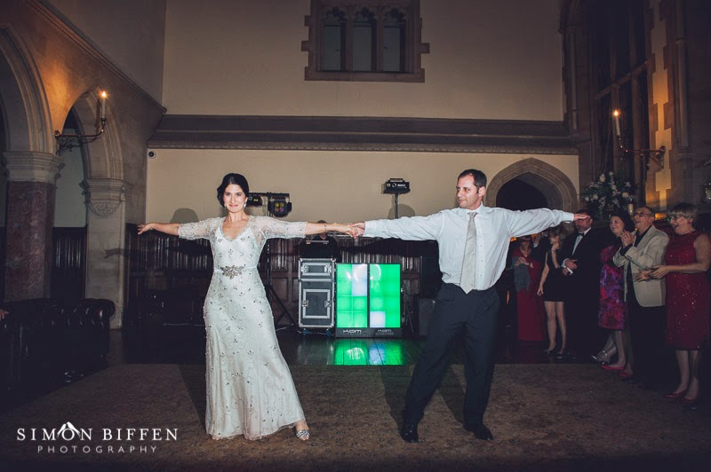 First dance at St Audries Park wedding