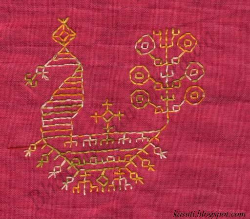 Kasuti Embroidery Tutorial Kasuti Sampler