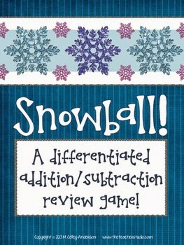 http://www.teacherspayteachers.com/Product/Snowball-A-Differentiated-Addition-and-Subtraction-Game-for-Grades-2-5-978746