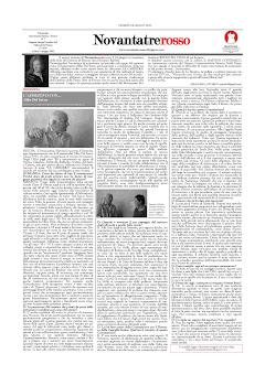 Novantatrerosso n°7 - LA CARRIERA Cliccate sull'immagine per scaricare il PDF