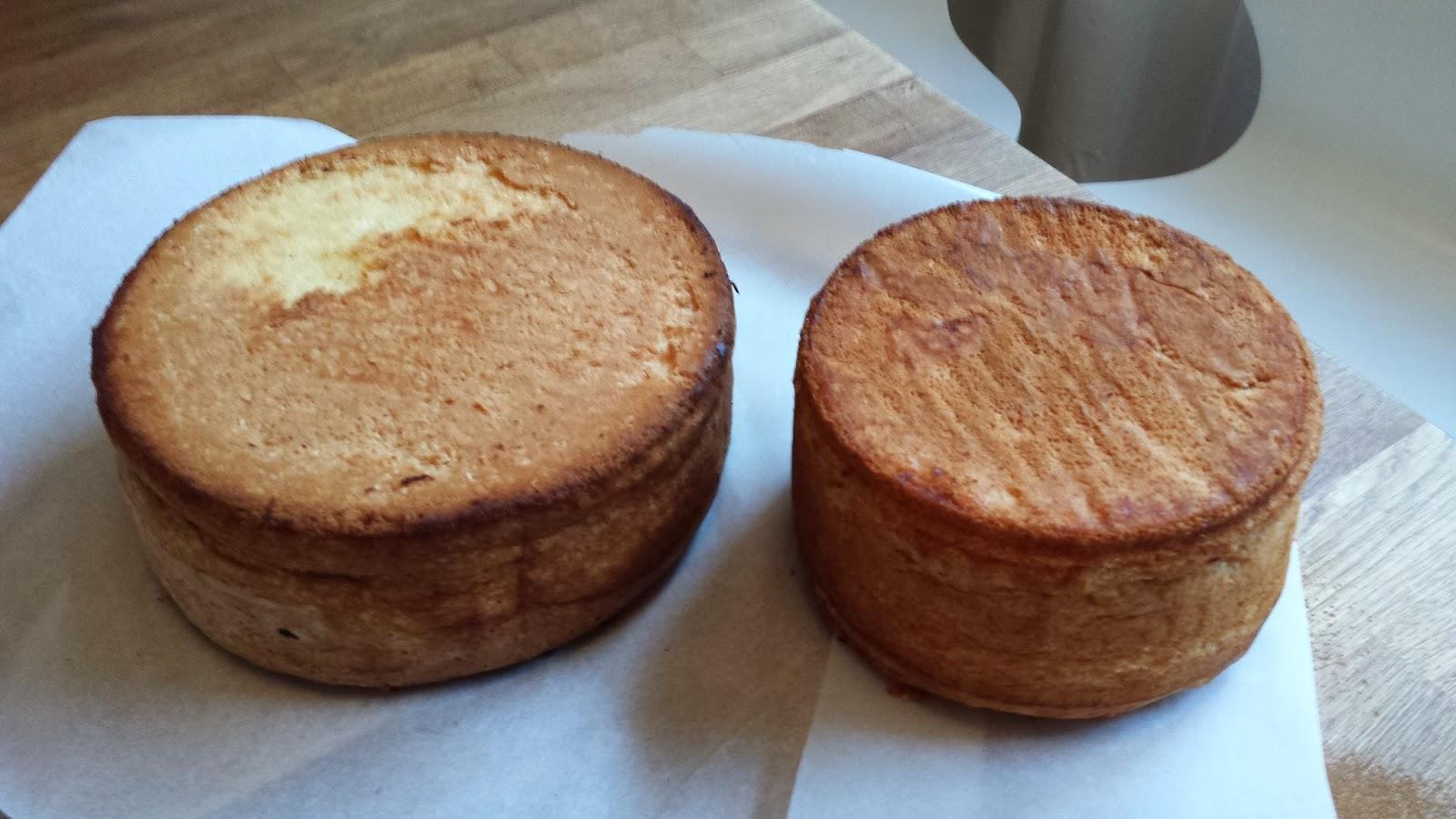 färdig tårtbotten utan ägg