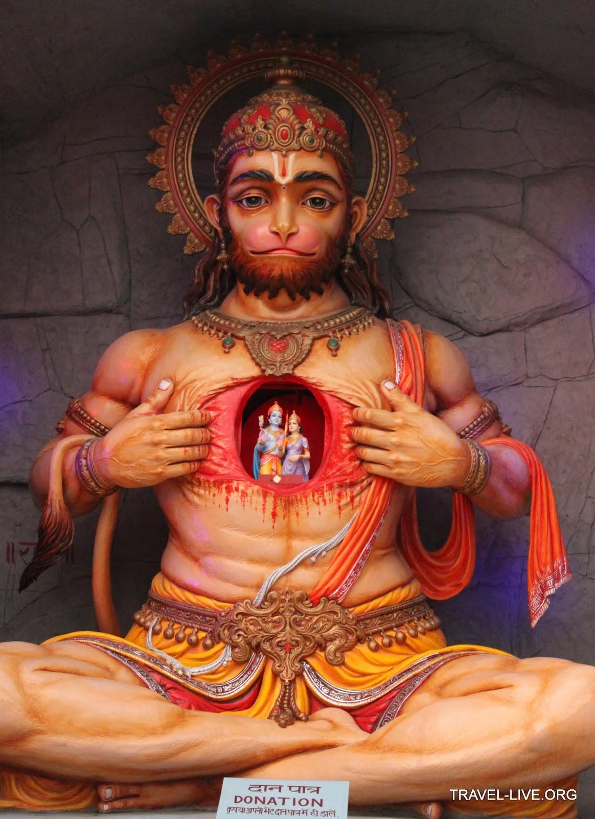 Anuman il Dio scimmia Hanuman