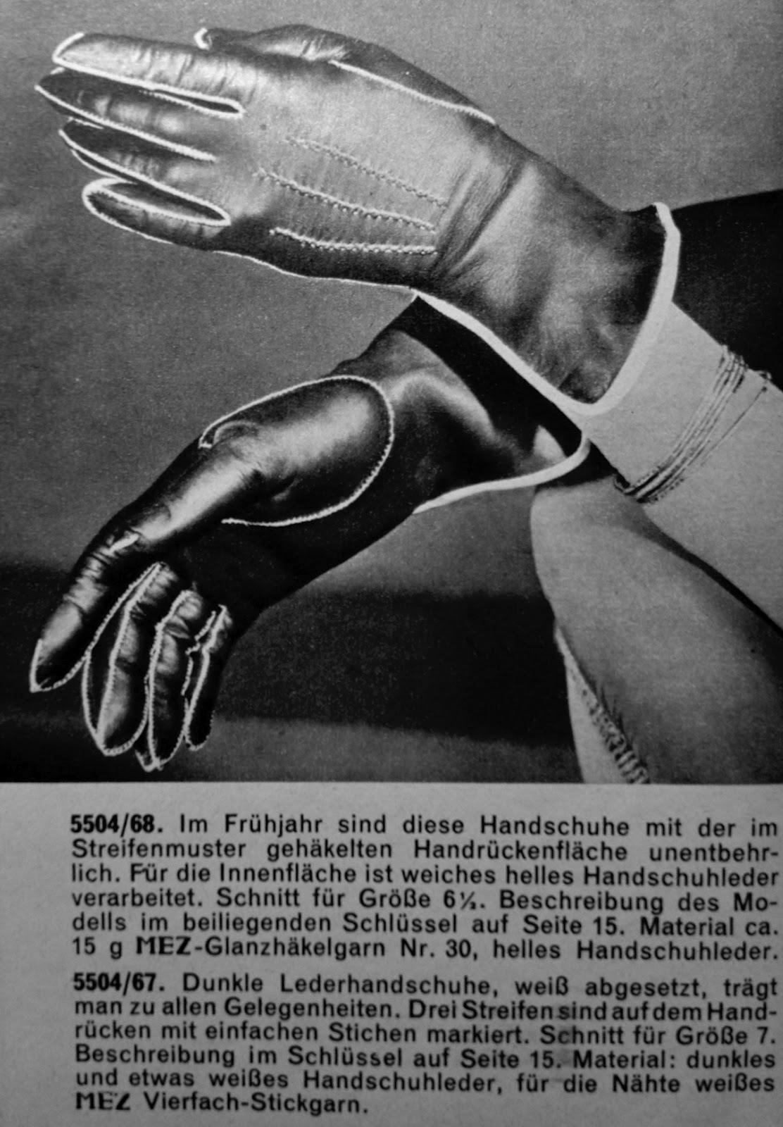 Vintage mens leather gloves - 1950 S Hand Sewn Leather Gloves
