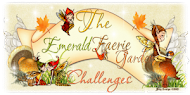 Emerald Faeries Garden Challenge Blog